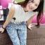 Seoul Secret Ladiest Ratro Lace Playsuit thumbnail 2