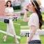 Lady Ribbon Lace Maxi Dress แม็กซี่เดรสแขนสั้น ผ้าลูกไม้ จั๊มเอว thumbnail 8
