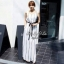 Jolie By D-Sai ชุดกางเกง Jumpsuit แขนกุด เนื้อผ้าชิฟฟ่อน thumbnail 2