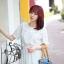 Cherry KOKO Polka Dot Minidress เดรสผ้าชีฟอง ลายจุด thumbnail 2