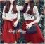 Lady Ribbon Set ชุดเซ็ทเสื้อผ้าลูกไม้สีขาวและกระโปรงสีแดงเบอร์กันดี thumbnail 8