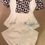 Lady Ribbon Black&White Set ชุดเซ็ทเสื้อกางเกง พิมพ์ลายกราฟฟิค thumbnail 9