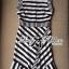 Lady Ribbon Lady Charlies Mix Striped Monochrome Dress thumbnail 9