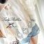 Lady Ribbon เสื้อสีขาวประดับลูกไม้ ทรงหลวม thumbnail 8