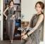 Lady Ribbon Maxi Dress เดรสยาวผ้าชีฟองผ่าข้าง ขายพร้อมเข็มขัด thumbnail 2