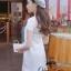 Ivory Knit Mini Dress มินิเดรสไหมพรม สีโทนอ่อน thumbnail 5