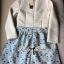 Lady Ribbon Feminine Princess Swan Embroidered Dress thumbnail 8