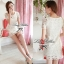 Lady Ribbon Sweet Honey Lace Dress เดรสผ้าลูกไม้ลายดอกสีขาว thumbnail 6