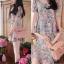 Lady Ribbon Blooming Pastel Dress เดรสพิมพ์ลายดอกไม้สีพาสเทล thumbnail 7