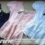 Lady Ribbon 2 side Blouse เสื้อปักฉลุดอกไม้ ใส่สลับหน้า/หลังได้ thumbnail 10