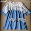 Lady Ribbon เสื้อลูกไม้ตัดต่อผ้าเดนิมสไตล์วินเทจ ผ้าลูกไม้ลายสวย thumbnail 9
