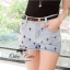 Cutie by Odee Denim Pants กางเกงยีนส์ขาสั้น ปักลายกางเขน thumbnail 3