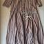 Lady Ribbon Stripe Maxi Dress แม็กซี่ลายทาง โทนสีน้ำตาล thumbnail 10