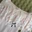Lady Ribbon Dress เดรสเปิดไหล่ประดับขนนกสีชมพู thumbnail 7