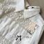 Lady Ribbon Cotton Lace Shirt เชิ้ตตัดต่อผ้าลูกไม้สุดหวาน thumbnail 9