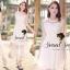 Seoul Secret Princess Chiffon WorkOut Maxi Dress thumbnail 2