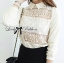 Lady Ribbon Cotton Lace Shirt เชิ้ตตัดต่อผ้าลูกไม้สุดหวาน thumbnail 5