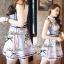 Lady Ribbon Givenchy Print Mini Dress มินิเดรสผ้าซิลค์พิมพ์ลาย thumbnail 9