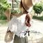 Lady Ribbon เสื้อผ้าลูกไม้เปิดไหล่ สไตล์วินเทจ thumbnail 4