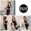 Icevanilla Romantic Black Lace Knit Dress thumbnail 8