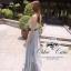 Odee Cutie Korean Style Maxi Dress ชุดเดรสยาวสีเทา แขนกุด thumbnail 2