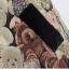 Cherry KOKO เดรสผ้าทอลายหมี ตัดต่อผ้าขนสัตว์ที่ปกคอและกระเป๋า thumbnail 14
