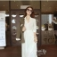 Icevanilla White Luxury Korea Chiffon Dress thumbnail 6