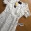 Lady Ribbon Maxi Dress เดรสยาวผ้าลูกไม้สีขาว thumbnail 8