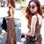 Lady Ribbon Sassy Leopard Maxi เดรสชีฟอง ลายเสือดาว thumbnail 4