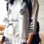 Lady Ribbon เซ็ตเสื้อ กางเกง พิมพ์ลายม้าลาย ดีเทลเก๋ แต่งขนม้าลาย thumbnail 8