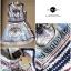 Lady Ribbon Givenchy Print Mini Dress มินิเดรสผ้าซิลค์พิมพ์ลาย thumbnail 12