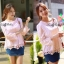 Lady Ribbon Lace Top เสื้อปักฉลุ แขนยาวฉลุลาย thumbnail 3