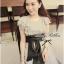 Lady Ribbon Lady Glamourous Jumpsuit จั๊มสูทขายาว สุดหรู thumbnail 4