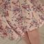 Ice Vanilla มินิเดรส ผ้าพิมพ์ลายช่อดอกไม้ แต่งชายแขนระบายพริ้วสวย thumbnail 9