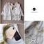 Lady Ribbon Bohemian pastel blouse เสื้อปักดอกไม้ สีพาสเทล thumbnail 9