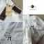 Lady Ribbon เสื้อปักฉลุ ผ้าป่าน แต่งลายลูกไม้ที่แขนและชายเสื้อ thumbnail 8