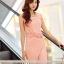 Sweet Pink Maxi แม็กซี่เดรสสีชมพู เปิดผ่าด้านข้าง thumbnail 6