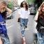 Seoul Secret Chic Sapphire Pants Set thumbnail 2