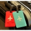 HAPPY FLIGHT Square Luggage Tag ป้ายห้อยกระเป๋าเดินทาง thumbnail 8