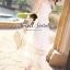 Seoul Secret Princess Chiffon WorkOut Maxi Dress thumbnail 8