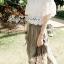Lady Ribbon เสื้อผ้าลูกไม้เปิดไหล่ สไตล์วินเทจ thumbnail 3