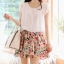 Cherry KOKO Sweet Floral Set ชุดเสื้อ กระโปรงผ้าชีฟอง พิมพ์ลายดอกไม้ thumbnail 2