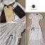 Lady Ribbon Lace Maxi Dress แม็กซี่เดรสแขนสั้น ผ้าลูกไม้ จั๊มเอว thumbnail 10