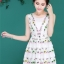Icevanilla Luxury Lively 3D Floral Embroidery Dress thumbnail 1