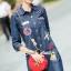 Seoul Secret Nifty&Chic Denim Dress Shirt thumbnail 3