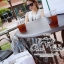 Odee Cutie ชุดเซ็ทเสื้อแขนกุด กระโปรงยาวผ้าชีฟอง thumbnail 4