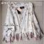 Lady Ribbon Glittering Printed Blouse เสื้อชีฟอง ระดับลายกลิตเตอร์ thumbnail 8