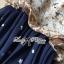 Lady Ribbon Maxi Dress เดรสยาวผูกคอพิมพ์ลายดอกไม้สไตล์เซ็กซี่ thumbnail 10