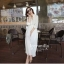 Icevanilla White Luxury Korea Chiffon Dress thumbnail 1