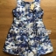 Lady Ribbon Floral Painting Printed Playsuit thumbnail 5
